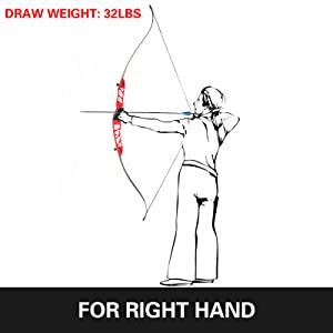 hunting recurve bow left handed recurve bow long bow long bow for adults