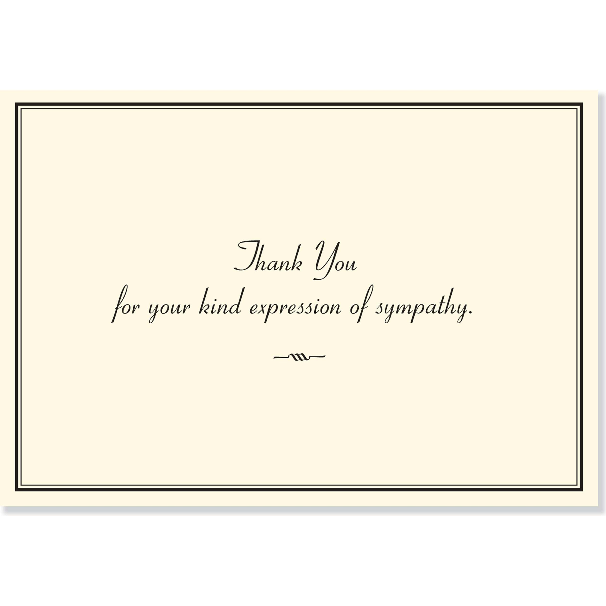 Quotes On Thank You Notes: Sympathy Thank You Notes (Stationery, Note Cards): Peter