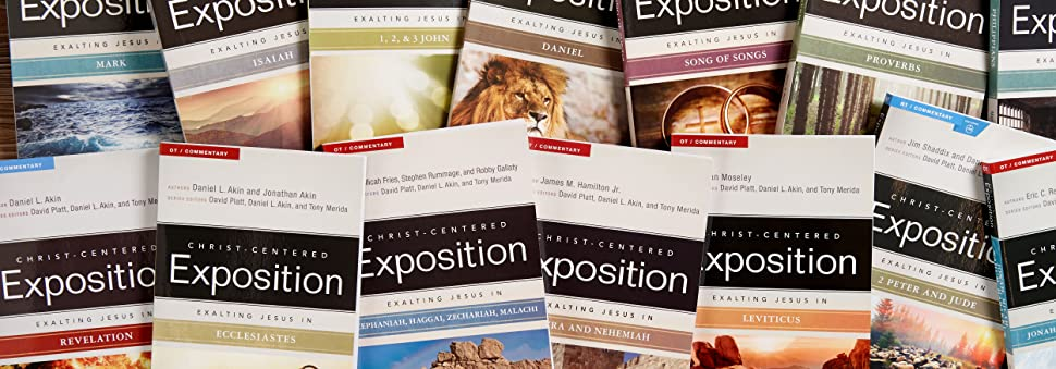 Exalting Jesus Commentary Series, Christ Centered Exposition Commentary Series, David Platt, Akin