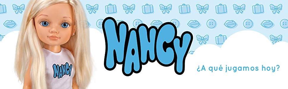Nancy, un dia de lluvia, Famosa, muñeca, niñas