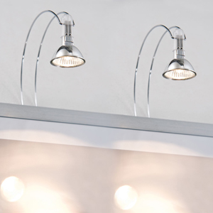 Spiegel-/fotolamp.