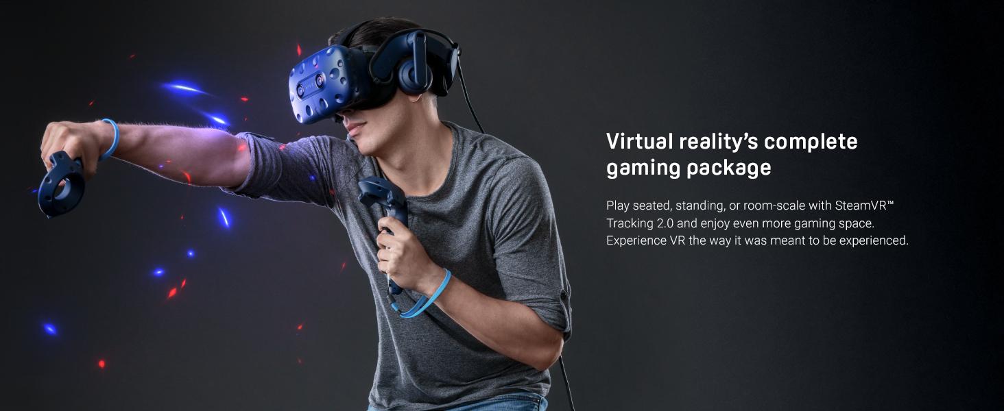 VR, VIVE Pro, VIVEPORT, Oculus, PSVR, gaming, PC gaming, VIVE, wireless VR