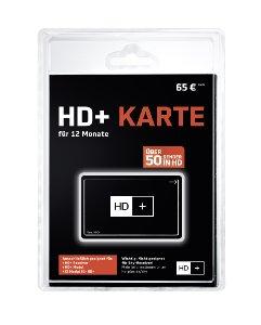 HD+ Karte für 12 Monate Fernsehen in brillanter HD
