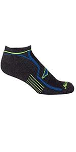 Bolt Quarter Running Socks