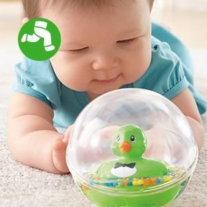 Mattel DVH73 Fisher-Price Patito a Flote verde juguete de ba/ño para beb/é