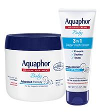 aquaphor baby regimen pack, diaper rash
