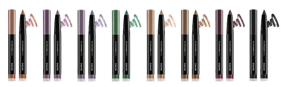 Cailyn Gel Eyeshadow Pencil long lasting crease free creamy gel rich pigment