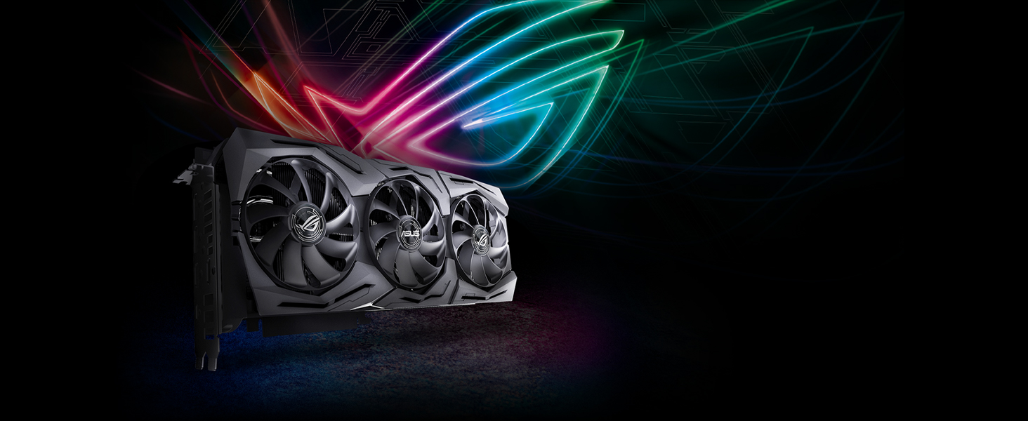 Asus ROG republic of gamers nvidia geforce graphics cards