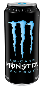 low carb carbohydrates low sugar low calories best energy drink in bulk caffeine