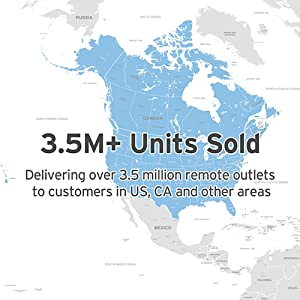 Since 2012, we has sold 3,589,739 remote control outlets in the United States and other countries