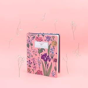 Agenda 2019/2020 semana vista Premium 17 meses Flowers