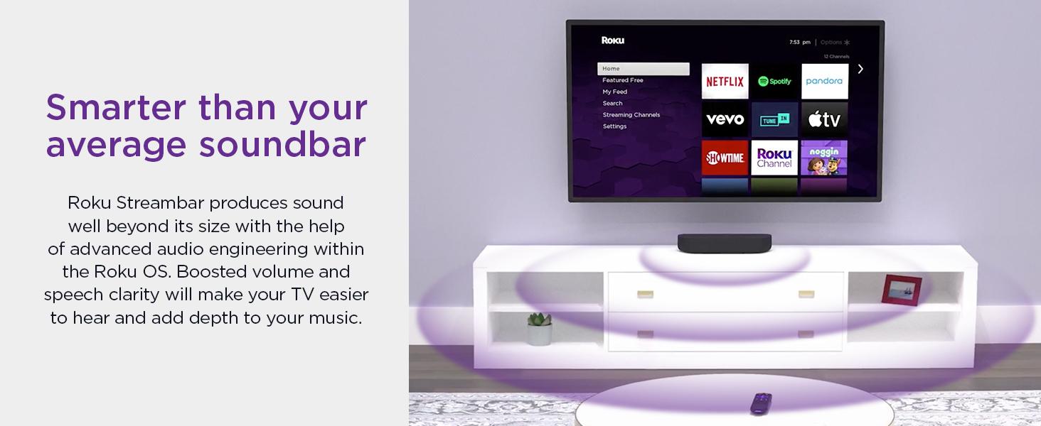 Roku Streambar smarter than your average soundbar