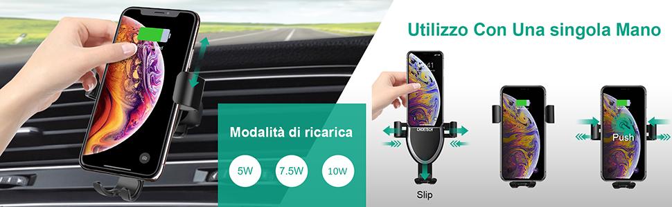 Caricatore Auto Wireless
