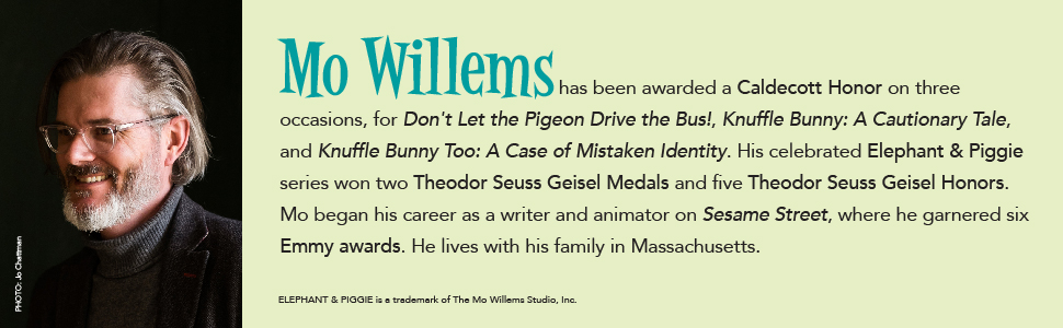 Don't Let the Pigeon Drive the Bus!: Mo Willems