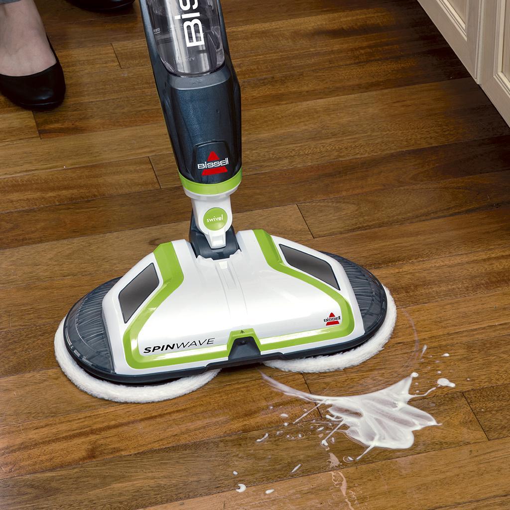 Best Wood Floor Cleaner Steam: Amazon.com: BISSELL Spinwave Powered Hardwood Floor Mop
