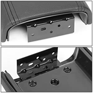 DNA MOTORING ZTL-Y-0054 OE Style Leather Center Console Armrest Lid Assembly w//Latch