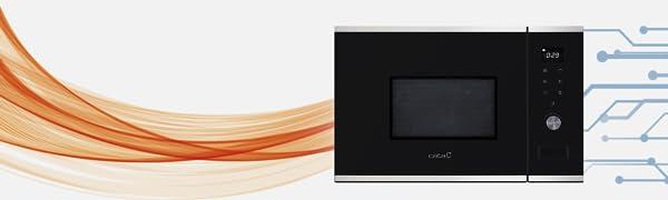Cata MICROONDAS, MC 20 WH, 800 W, 20 litros, Aluminio ...