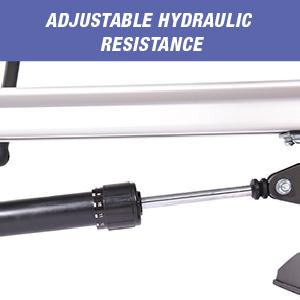 adjustable hydralic resistance