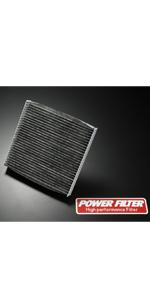 POWER FILTER カーボンキャビンフィルター PM2.5 対応 仕様 CFT-S3 B07414BW59