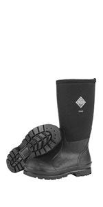 Women/'s 12 MuckBoots Chore Classic Men/'s Rubber Work Boots,Black,Men/'s 11 M US