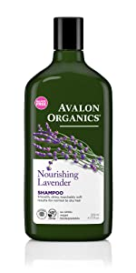 Avalon Organic Nourishing Lavender Shampoo