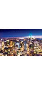 1000ピース ジグソーパズル  ニューヨークの夜景-アメリカ