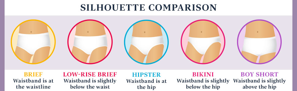 brief; hipster; low rise brief; bikini; boy short