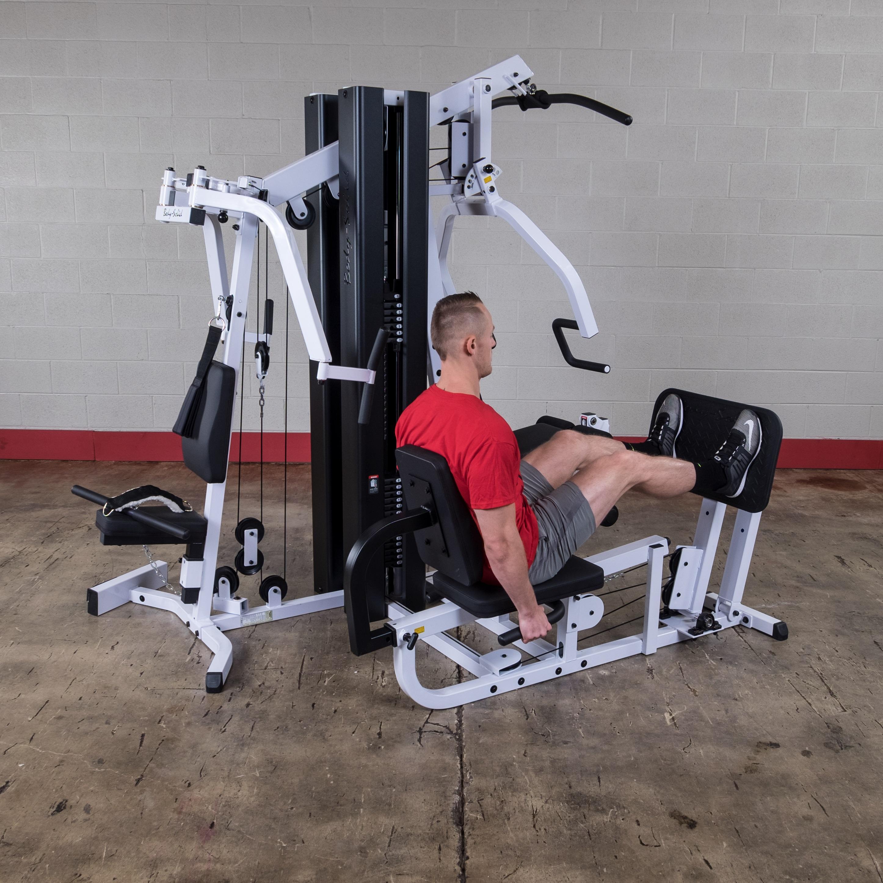 Exm3000lps Gym System: Amazon.com : Body-Solid EXM3000LPS Light Commercial Gym