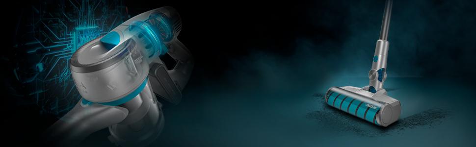 Cecotec Conga Rockstar 200 Elite Aspirador 3 en 1 vertical, escoba ...