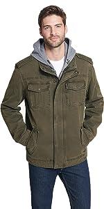 Levi's men's Four-Pocket Hooded Jacket