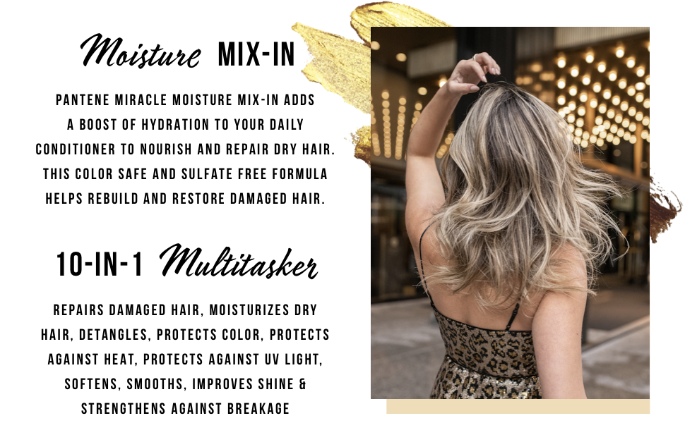 10 in 1 multitasking conditioning spray leave in conditioner dry hair moisture mix in conditioner