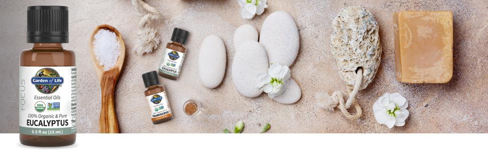 garden of life eucalyptus essential oils
