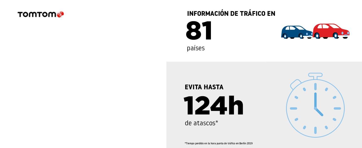 TomTom Traffic hiperpreciso y de la mejor calidad