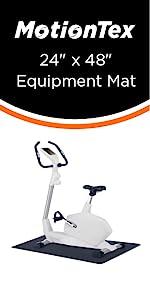 """24"""" x 48"""" fitness equipment mat"""
