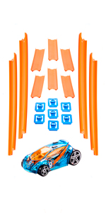 Hot Wheels Track Builder Gerade Rennbahn Set