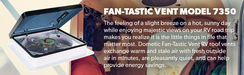 fan tastic vent 807350 series vent white RV Awning Parts Diagram