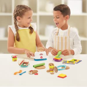 Play-Doh Toaster Creations