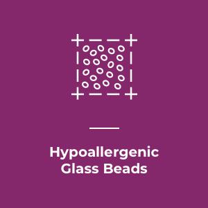 Hypoallergenic Glass Beads