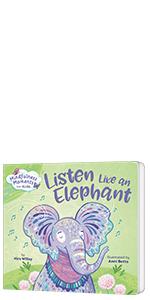 MINDFULNESS MOMENTS FOR KIDS: LISTEN LIKE AN ELEPHANT BOARD