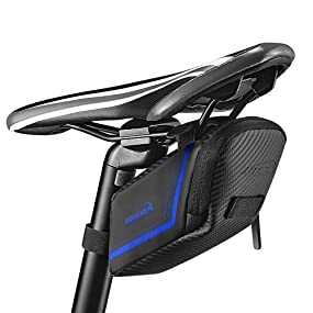 Ibera Bicycle Water Resistant Bike Saddle Bag/Seat Bag/Cycling Bag for Road and Other Bikes
