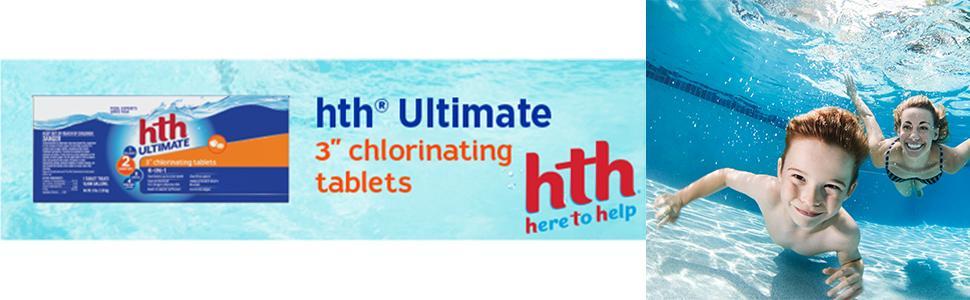 Chlorinating Tablets, chlorine tablets, hth, hth chlorine, hth chlorine tablets, pool chlorine