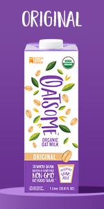 oat milk organic oat milk dairy free milk lactose free