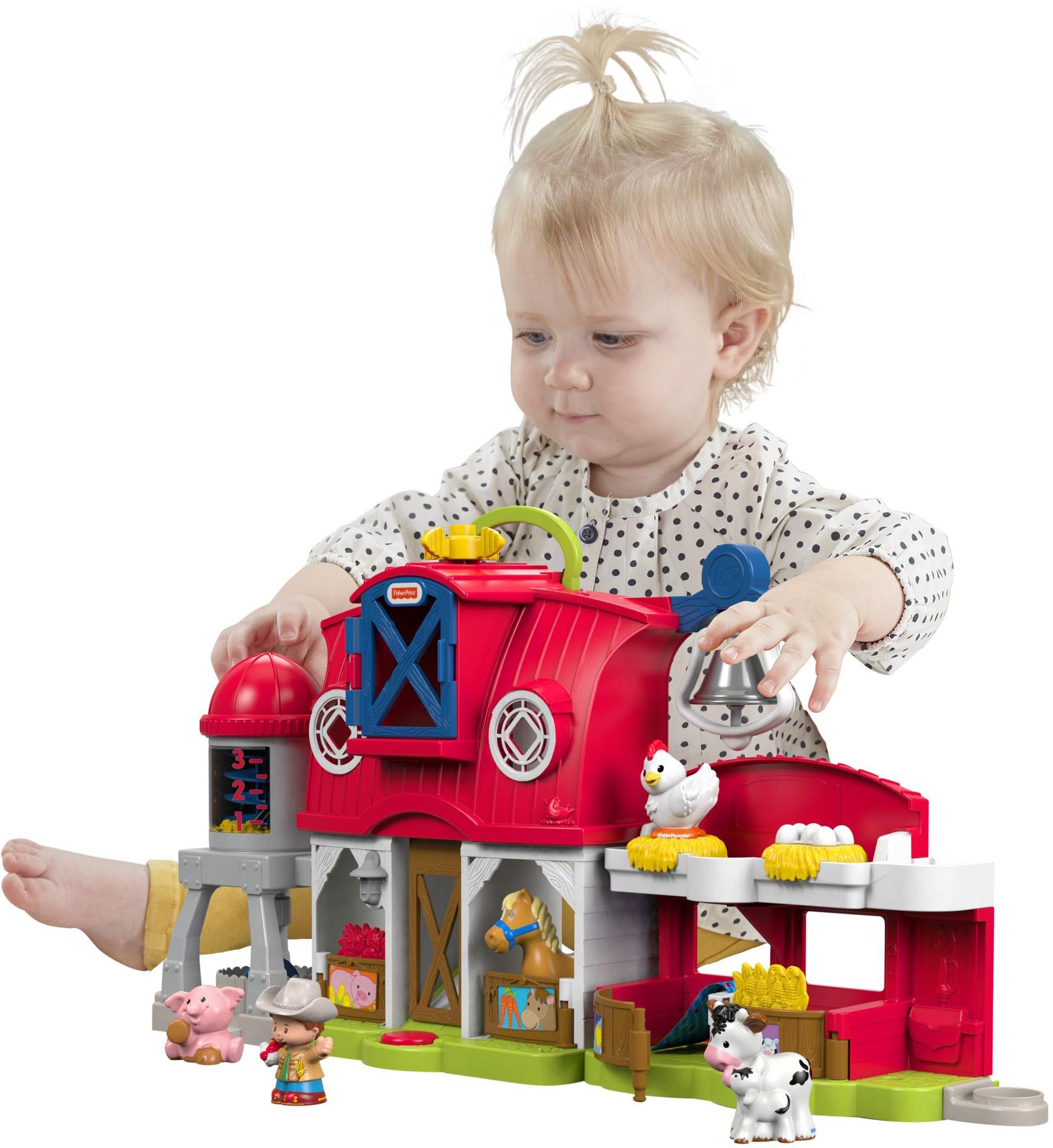 Toys For Little : Amazon fisher price little people caring for animals