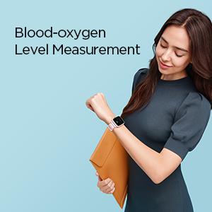 Blood Oxygen Monitoring Smartwatch