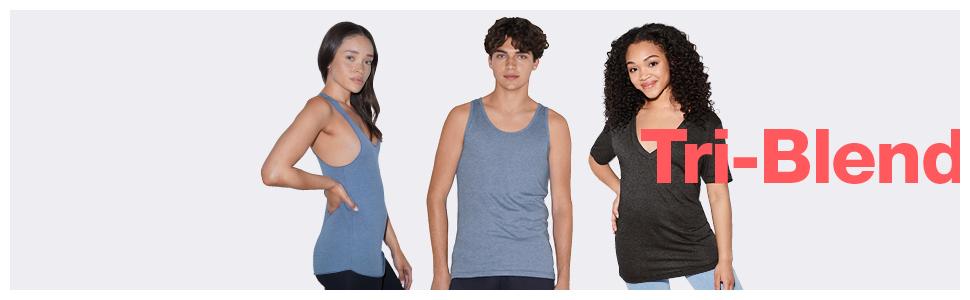 american apparel, tri-blend