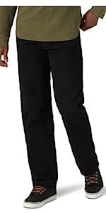 Wrangler Authentics Fleece Lined 5 Pocket Jean