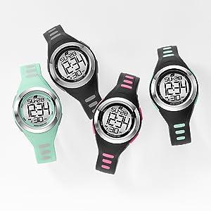 skechers, skechers watch, watch, sport watch, analog watch, cheap watch, black watch, digital watch
