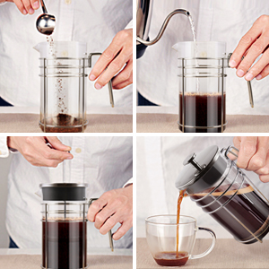 The best way to brew coffee with a French Press