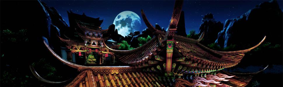 美しい中国の夜景