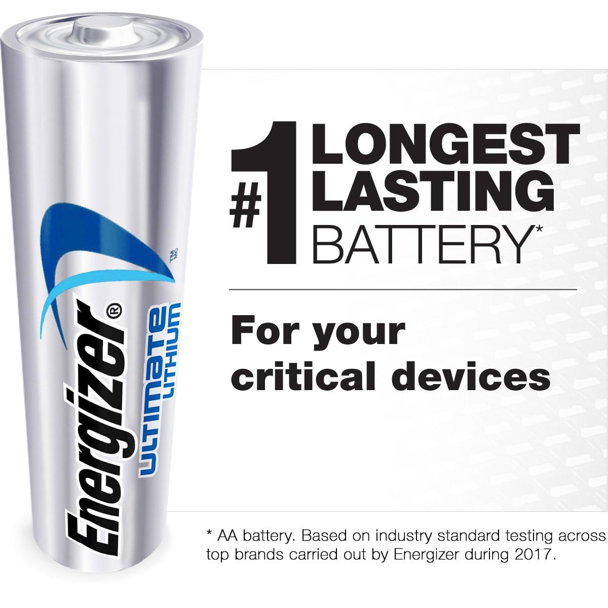 Energizer Rechargeable D Cell Batteries, NiMH D Battery (2